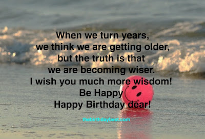 Be Happy Birthday Wishes