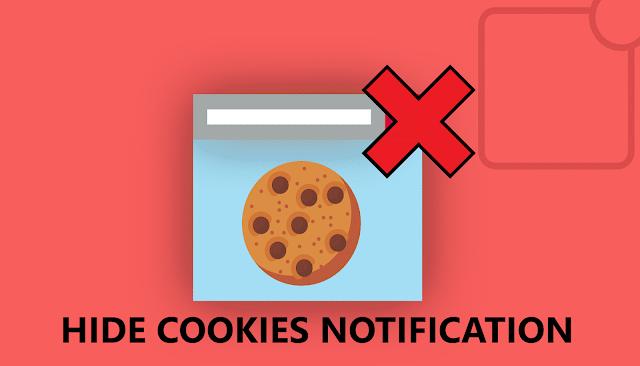 Cookies Notification.