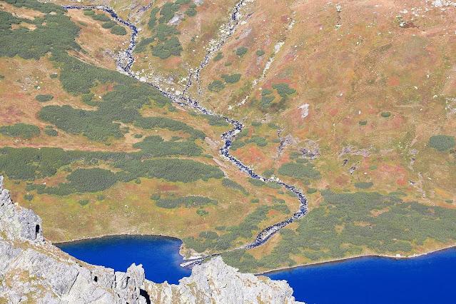 Dolina Pięciu Stawów widziana z Miedzianego