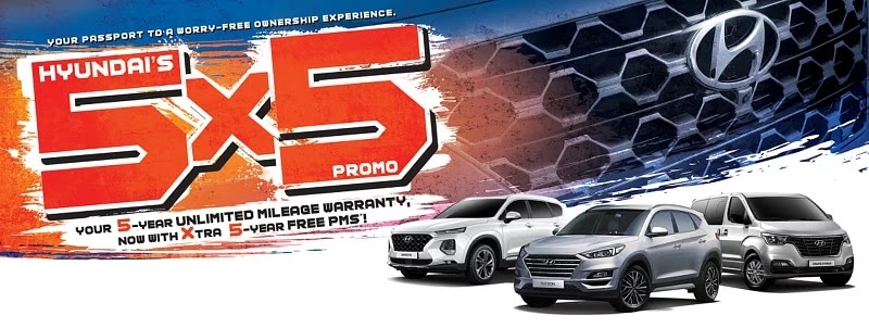 Hyundai 5x5 Special Service Promo