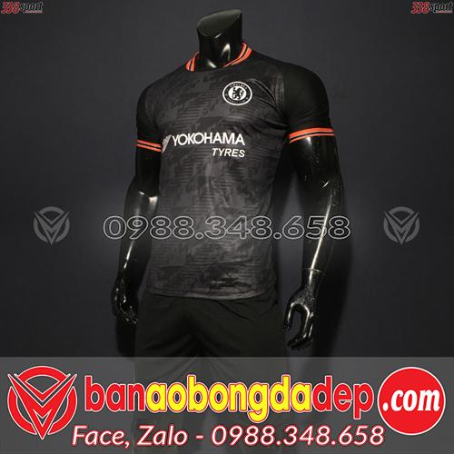 Áo Chelsea Màu Đen 2020 Training 11