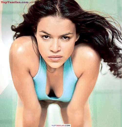 Michelle Rodriguez Sexy Bikini, Lingerie, Bra Photos & Cleavage Pics in Swimwear