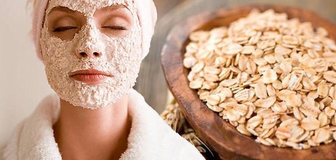 Mặt nạ yến mạch giúp giữ ẩm, giảm ngứa ngáy và bong tróc