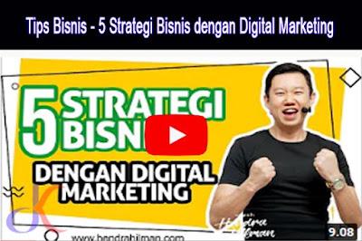 Strategi bisnis | Tip untuk bisnis secara online