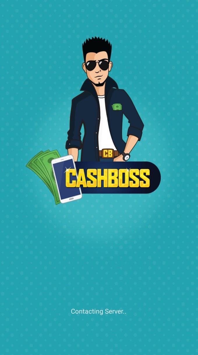 CashBoss App Free Rs.15 Paytm Cash Refer