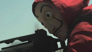 "Money Heist Season 2 (Part 2) Episode 7: ""Tumbar la carpa"" or ""Strike the Tent."""