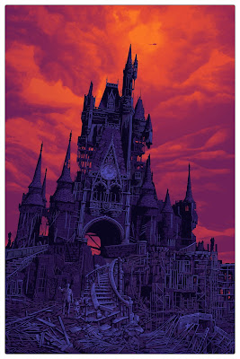 "Disneyland ""To All That Come To This Happy Place..."" Screen Print by Daniel Danger"