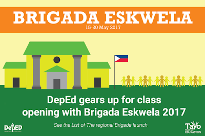 DepEd gears up for class opening with Brigada Eskwela 2017