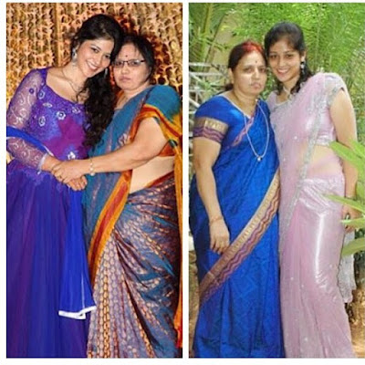 Priyanka Jawalkar with her mother