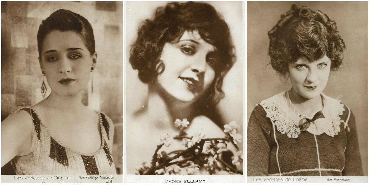Wonderful Vintage Postcards of 30 Silent Hollywood ...