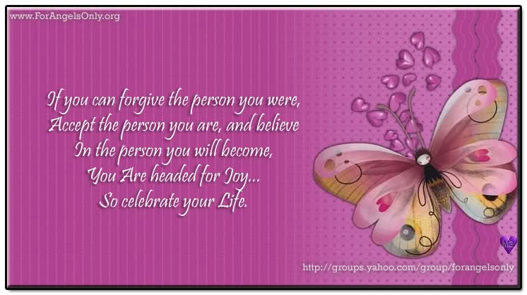 Great Quotes If You Can Forgive The Person You Were