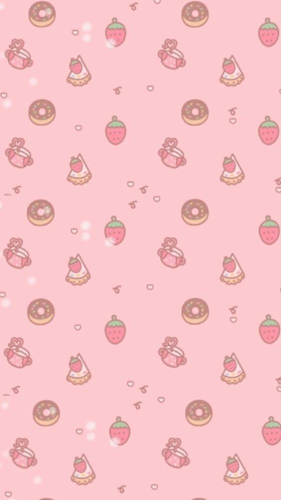 pink candy hearts wallpaper