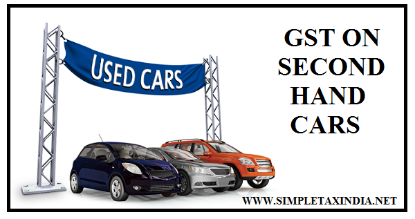 Is There Gst On Second Hand Cars