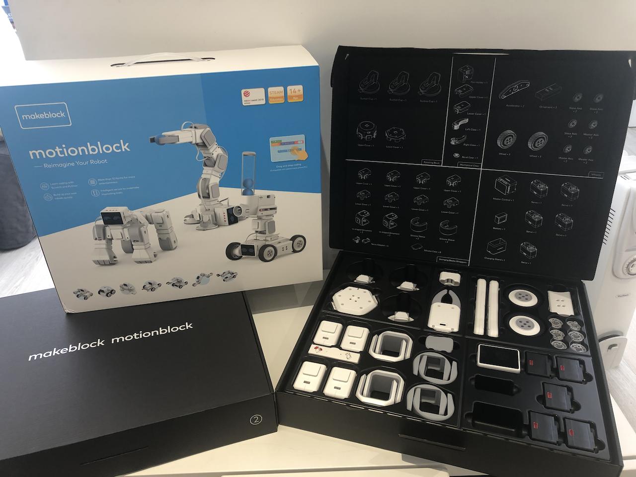 MakeBlock MotionBlock Robotics Kit | Tech Age Kids | Technology for