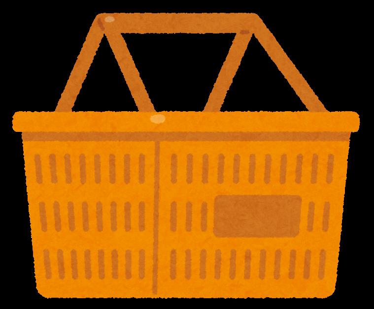 いろいろな買い物かごのイラスト かわいいフリー素材集 いらすとや