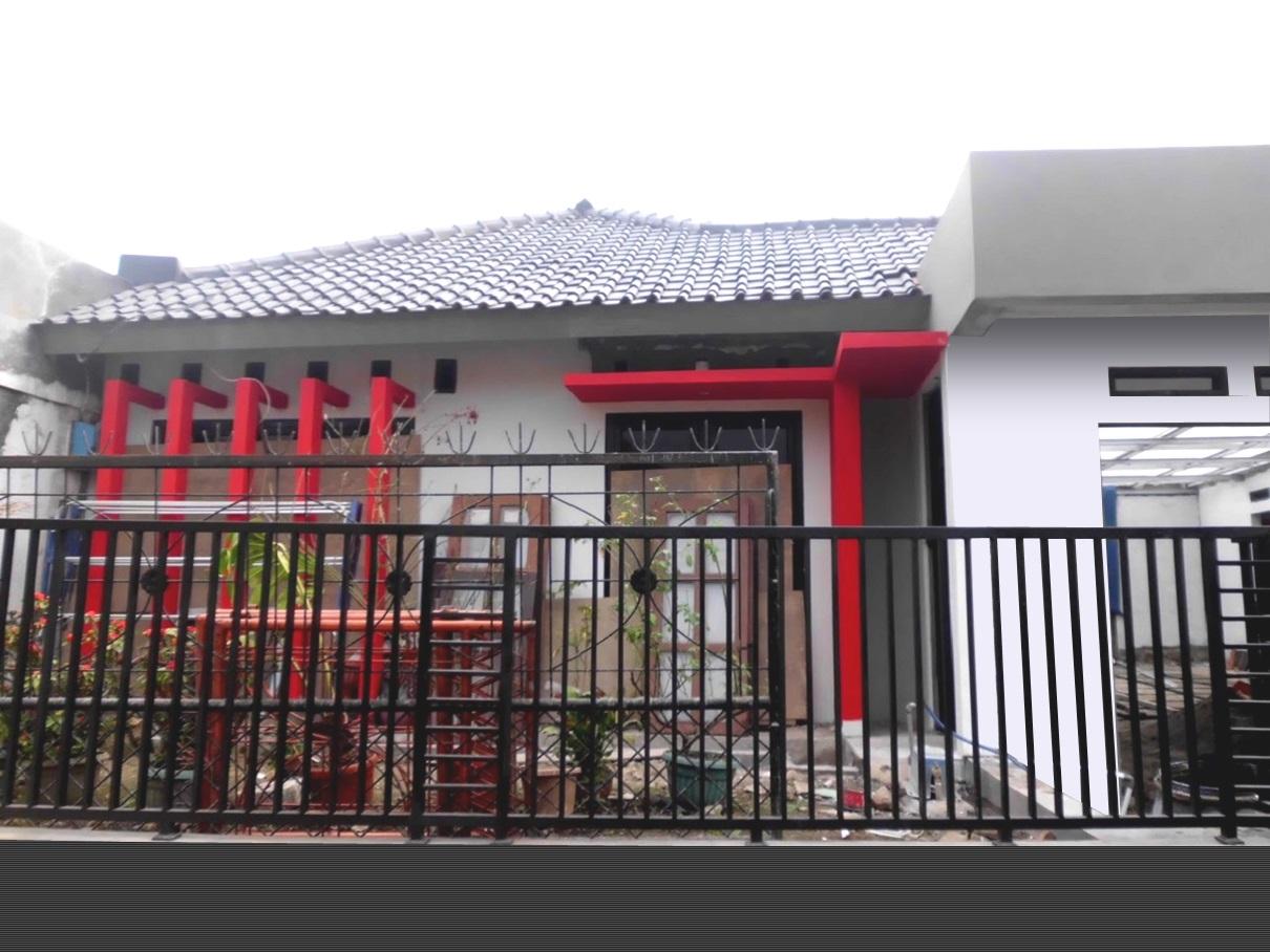 proyek Renovasi total pengembangan dan penggabungan 2 rumah menjadi 1 rumah milik Bpk Andika Ishak Vidarsa di Komplek Badak putih, Cikaret, Ciapus, Bogor, Tahun 2014