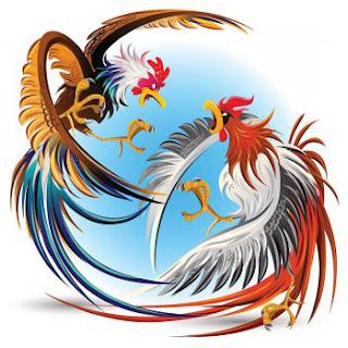 los dos gallos fabula