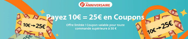 bonus 25 euros