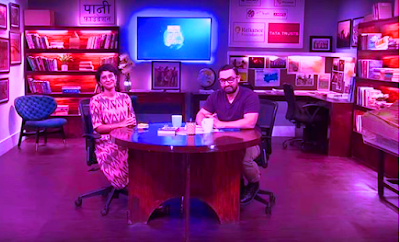 aamir khan during a tv show