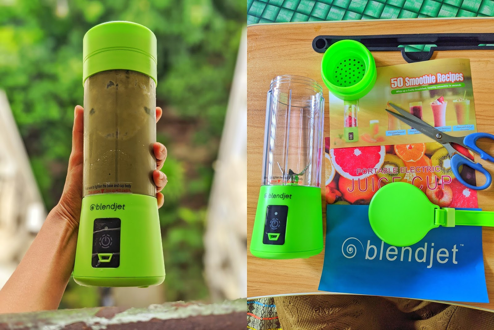 blendjet portable blender review