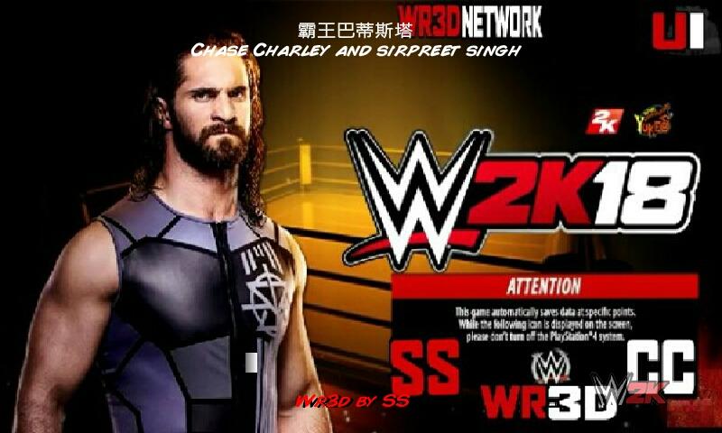 Technical gaming: WWE 2k18 wr3d mod