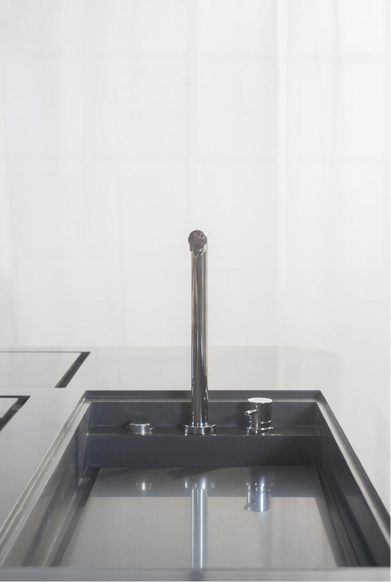lavabo acciaio cucina Oasi