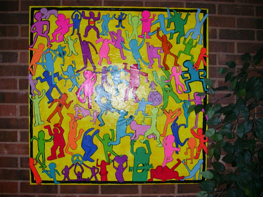 Keith Haring dance Party