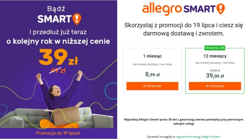 allegro smart darmowa dostawa czy warto kupić
