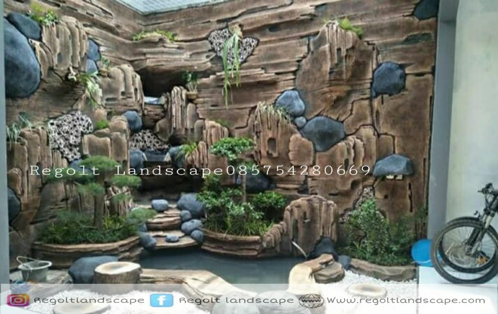 Jasa Pembuatan Dekorasi Kolam Tebing Relief 3D Di Surabaya