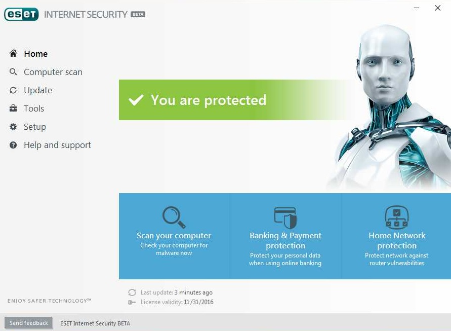 Eset nod32 internet security 2017 with keys 2017 free download