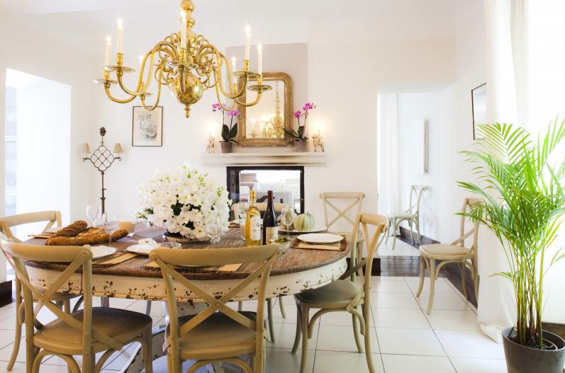 French Country Style: Dining Rooms