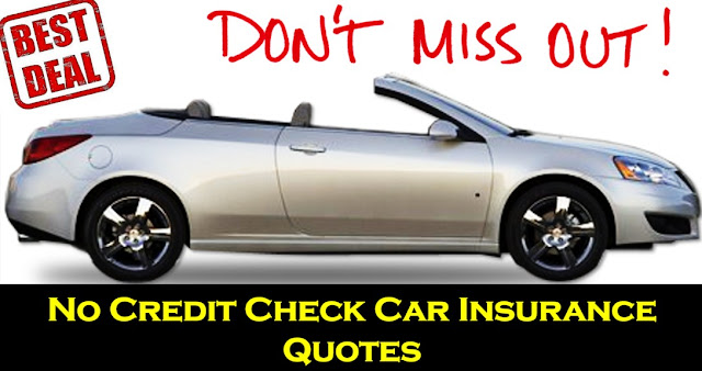 Get Auto Insurance Quote Without Credit Check