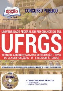 Baixar Apostila Concurso UFRGS 2018 PDF Download