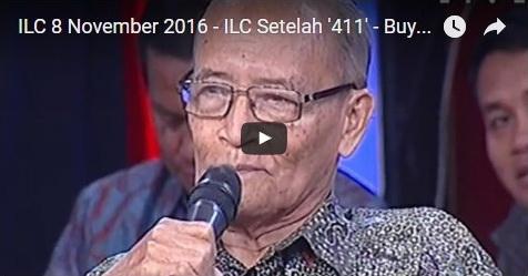 VIDEO: Ini 6 Pernyataan Agak Nyeleneh Buya Syafii Di ILC, Salah Satunya Menyebut Diri Tentara Setan