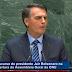 O vexame e as mentiras ditas por Bolsonaro na ONU