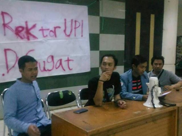 Mahasiswa UPI Bandung Akan Mengugat Uang Kuliah Tunggal (UKT)