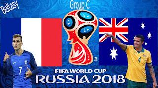 مشاهدة مباراة فرنسا واستراليا بث مباشر