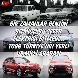 Bir Zamanlar Benzini Bitmişti Bu Sefer Elektriği Bitmedi... TOGG Türkiye'nin Yerli ve Milli Arabası