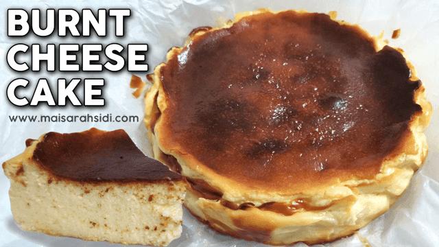 Resepi Burnt Cheesecake Mudah dan Sedap