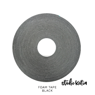 FOAM TAPE - BLACK