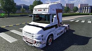 Scania T Stripe skin mod
