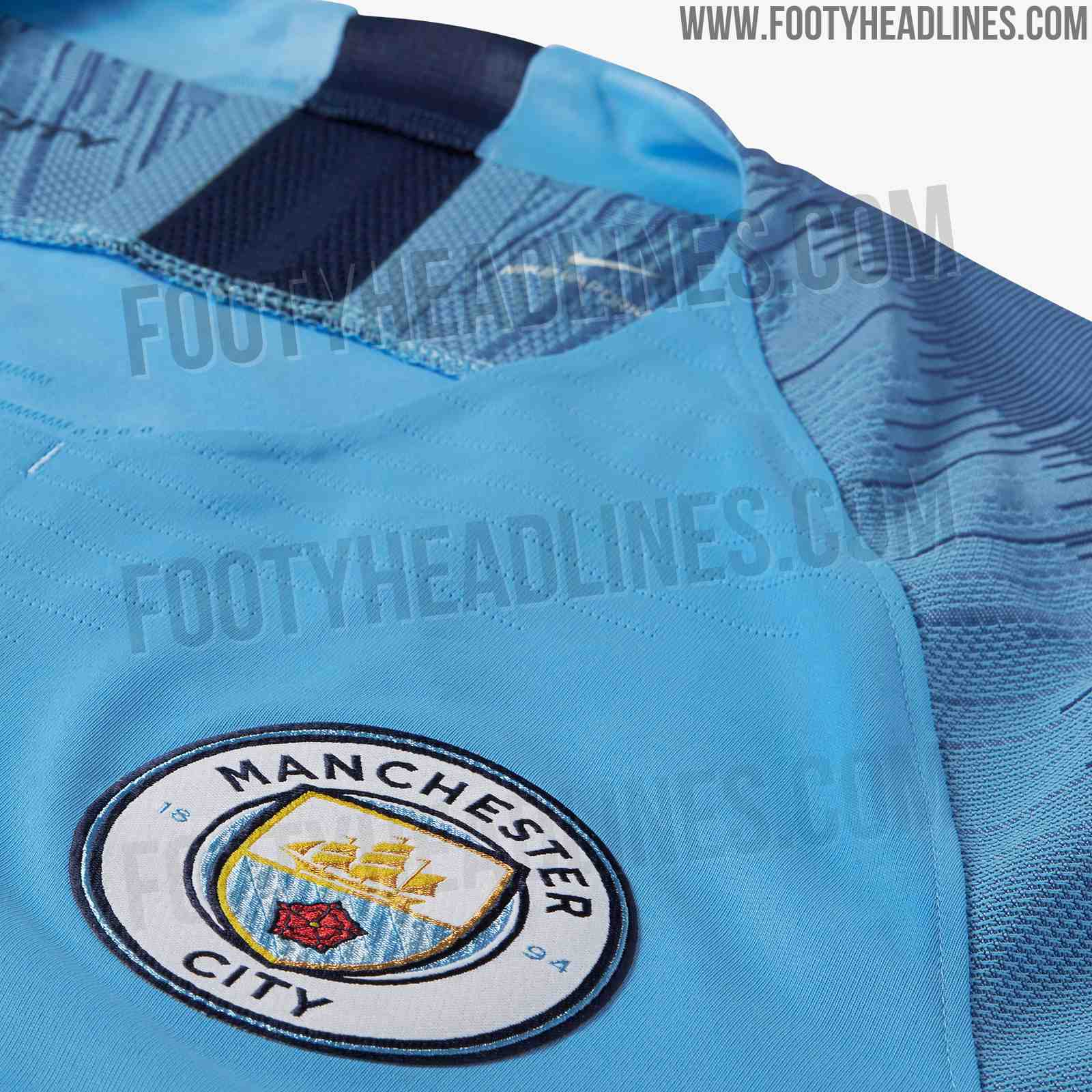 Manchester City 18 19 Home Kit Released Footy Headlines