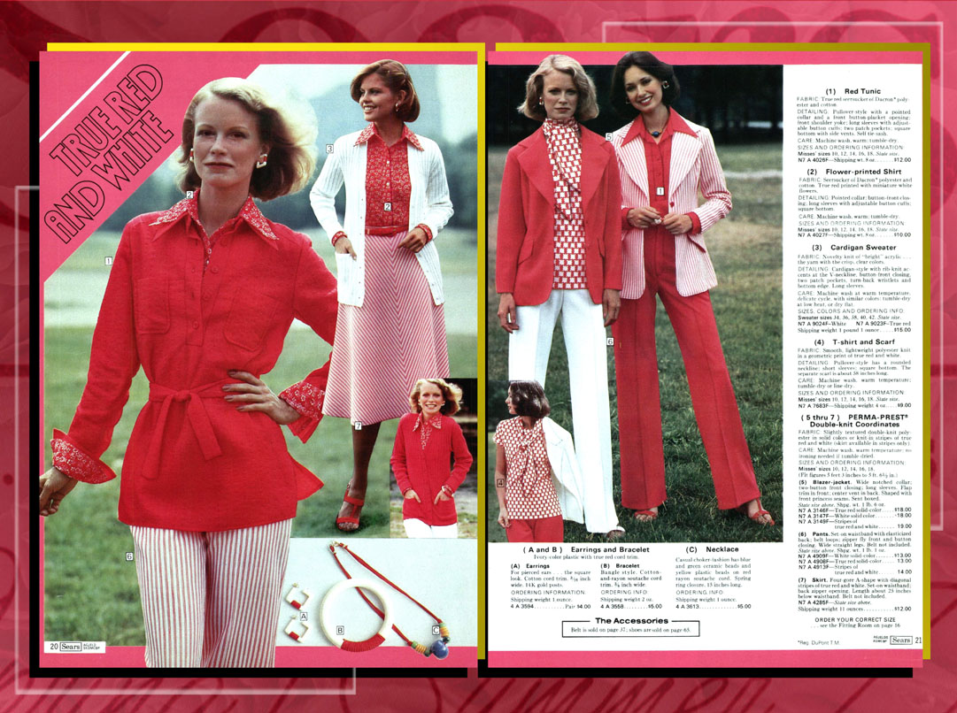 90bb5d3a8 Shelley in a spread for Sears Spring/Summer 1977
