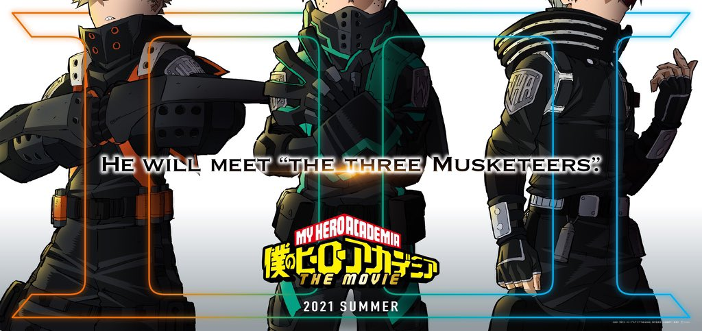 My Hero Academia dates more news about its third film