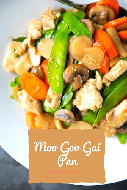 Easy Moo Goo Gai Pan