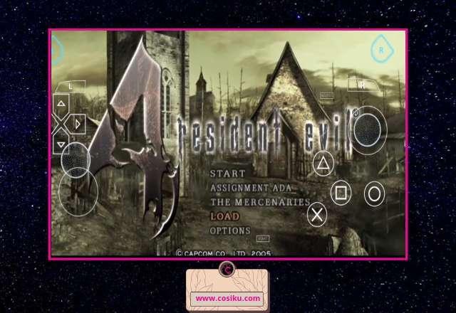 RESIDENT EVIL 4 Dolphin Emulator PSP For Hp Android