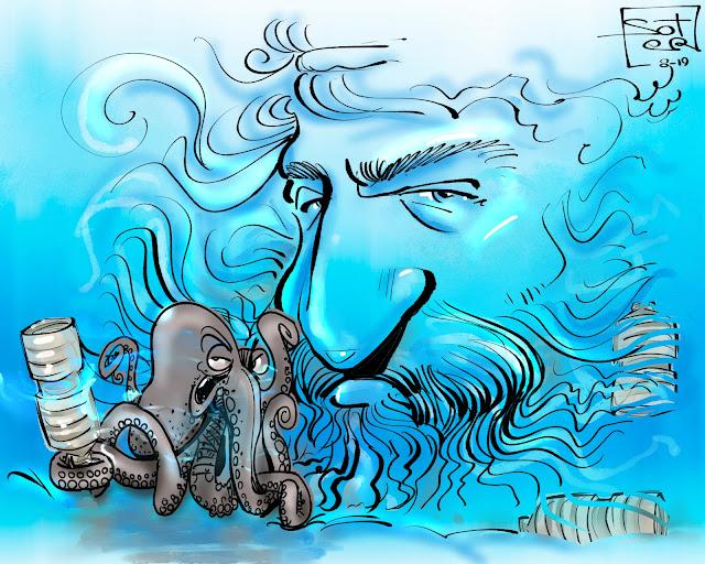 Η Ελλάδα καταναλώνει περίπου 0,6 εκατομμύρια τόνους πλαστικών το χρόνο και ανακυκλώνει μόλις 20%. Περισσότερο από το 80% των θαλάσσιων απορριμμάτων είναι πλαστικά, ενώ από αυτά επηρεάζονται, εκτός από τις θάλασσες και τους βυθούς, όλα τα έμβια όντα.