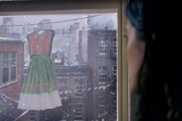Filme Frida cena Nova Iorque