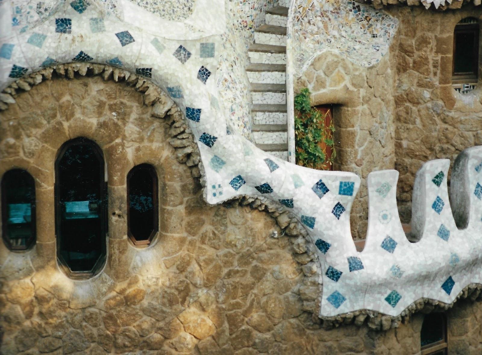 Prace Gaudiego w Barcelonie