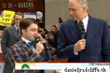 """Updated(2): Daniel Radcliffe and """"How to Succeed"""" cast on the Today Show"""